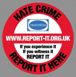 Hate Crime Report it Here! True Vision